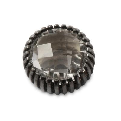 Top Andaluz Chesscut BERGKRISTALL 10mm geschwärzt