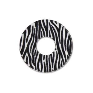 Acryl Scheibe 22mm Zebra