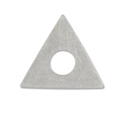 Scheibe Triangel 28mm gekratzt