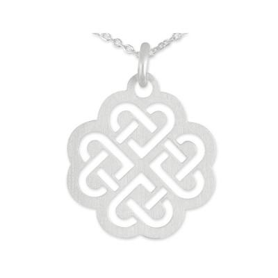 Anhänger keltisches Herz inkl. Silberkette
