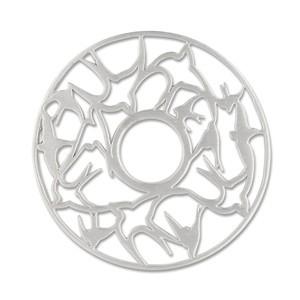 Scheibe Schwalben, 28 mm
