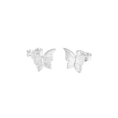 CarlZen Schmetterlings Ohrstecker