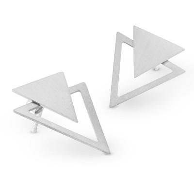 Ohrhänger Dreieck inkl Dreieck Einhänger