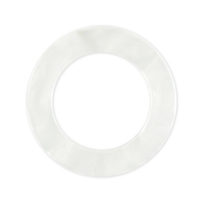 LOOP Ring Acryl - 23mm/34mm - white