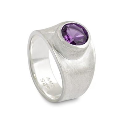 PUR Ring, Amethyst 8 mm