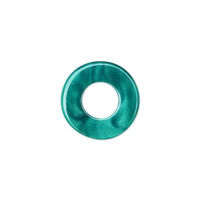 Scheibe Aquarell acryl 16mm petrol