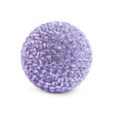 Kristall Klangkugel 20 mm, violett