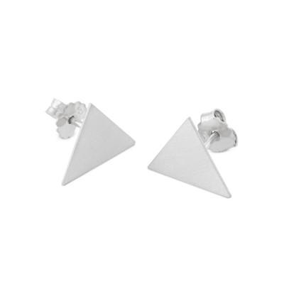 Ohrstecker Dreieck 11x13mm
