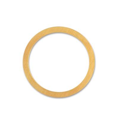 Anhänger Kreis 25mm plattiert
