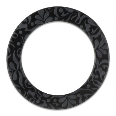 LOOP Ring innen 29mm, Aussen 40mm - black