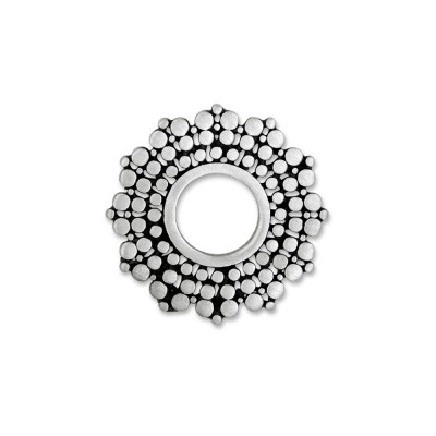 Scheibe Art Flower 22mm