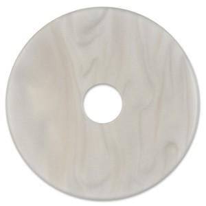 Scheibe Aquarell acryl 36mm grau