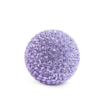 Kristall Klangkugel, 17mm, violett