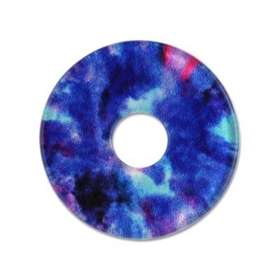 Acryl Scheibe 28mm blue Cloud