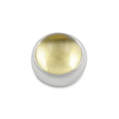 Top Jonglage Cabochon 8mm Lemon Quartz