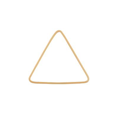 Anhänger Dreieck, plattiert