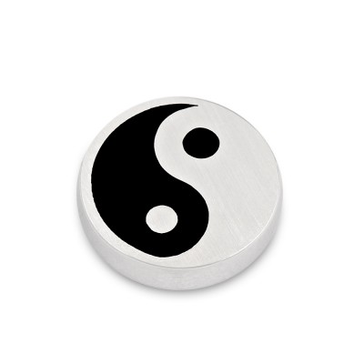 Top Ying und Yang Black, 14 mm