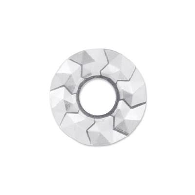 Scheibe Triangel 22 mm silber Silber