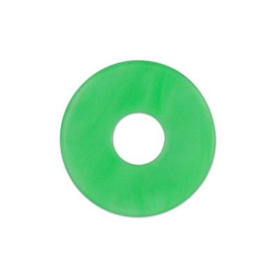 Scheibe Aquarell acryl 22mm grasgrün