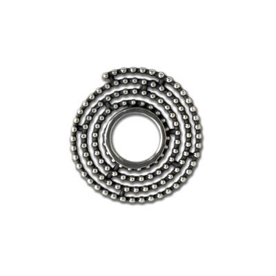 Scheibe GlamRock ca. 21mm Spirale