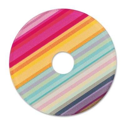 Acryl Scheibe 36mm Color stripes 2