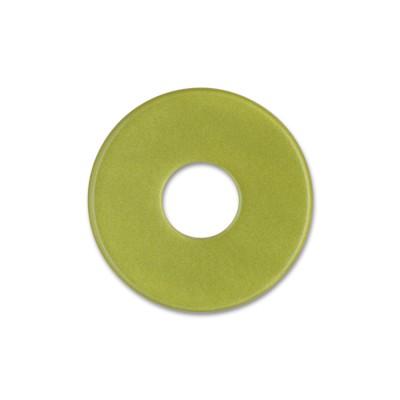 Scheibe Aquarell acryl 22mm olivgrün***