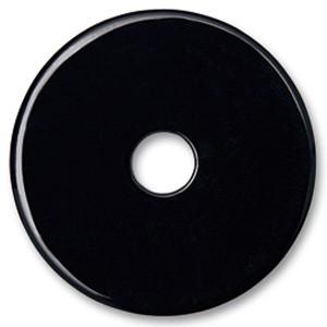Color Scheibe Acetat schwarz 36mm