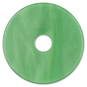 Scheibe Aquarell acryl 36mm grün
