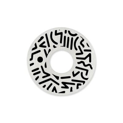 Scheibe Cut Motiv Keith 22mm incl Acrylscheibe