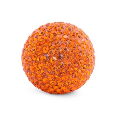 Kristall Klangkugel 20 mm, orange