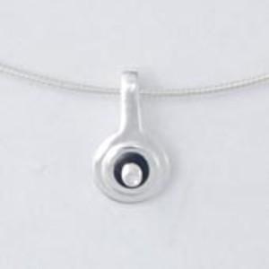 Schlaufe mit Silberseil 45cm