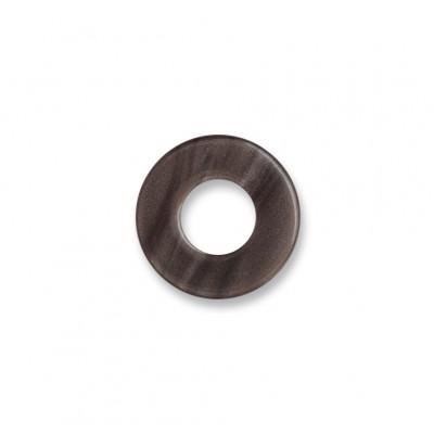 Scheibe Aquarell acryl 16mm dunkelbraun