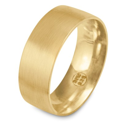 Ring 8mm GOLD 585