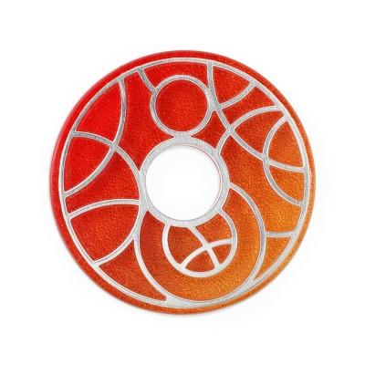 Scheibe Planet Rot Orange 28mm