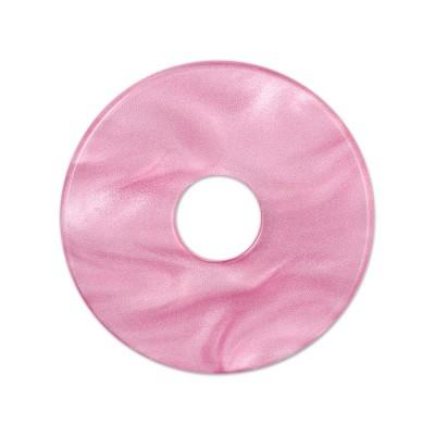 Scheibe Aquarell acryl 28mm malve