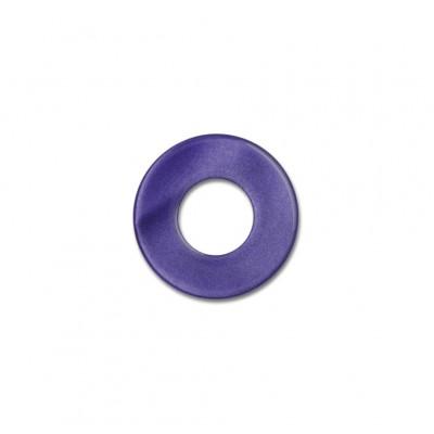 Scheibe Aquarell acryl 16mm lila