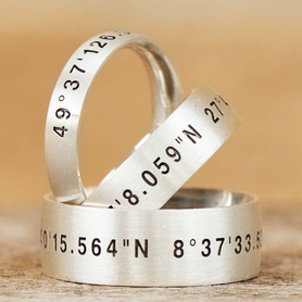 LOGO Gravur Ringe