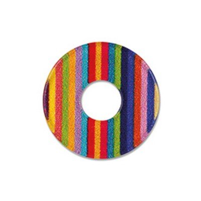 Acryl Scheibe 22mm Stripes