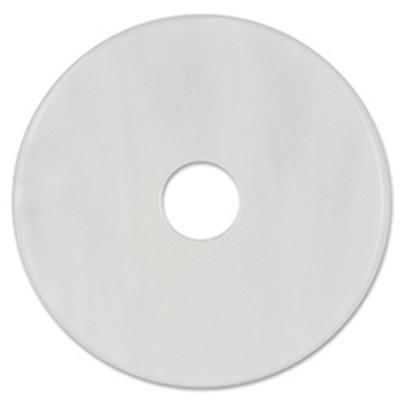 Scheibe Aquarell acryl 36mm weiß