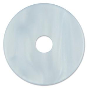 Scheibe Aquarell acryl 36mm eisblau