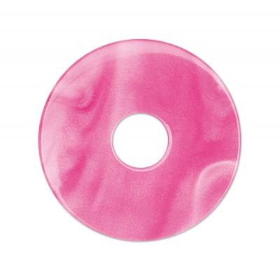 Scheibe Aquarell acryl 28mm pink