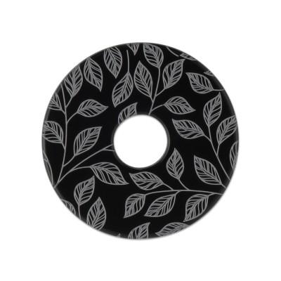 Acryl Scheibe 28mm Blätter