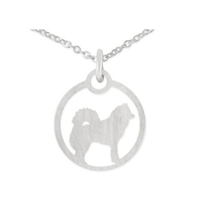 Anhänger Hund 13mm inkl. Silberkette