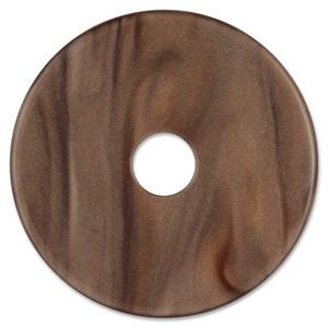 Scheibe Aquarell Acryl 36mm, dunkelbraun
