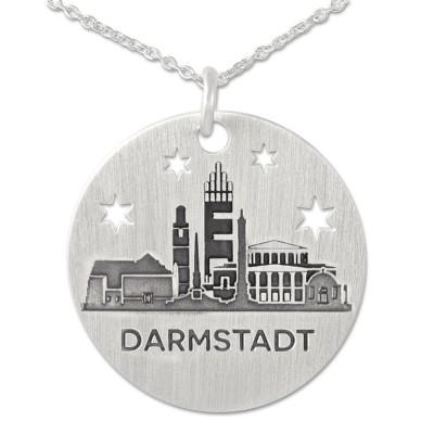 Kettenanhänger Darmstadt inkl. Silberkette