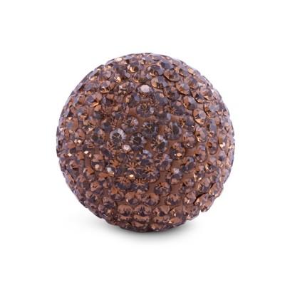 Kristall Klangkugel 20 mm, braun