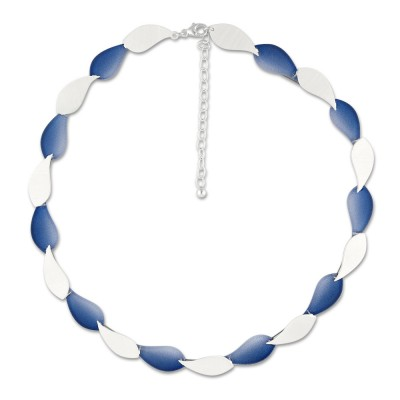 LEVEL4 Collier Leaves blau X Elemente