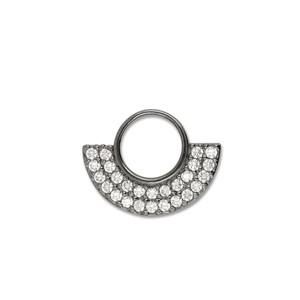 Scheibe Circle, 16 mm, rutheniert