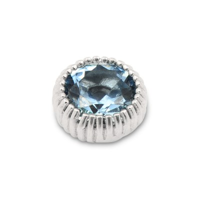 Top Andaluz, 12 mm Zirkonia aqua