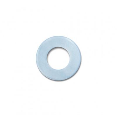 Scheibe Aquarell acryl 16mm eisblau